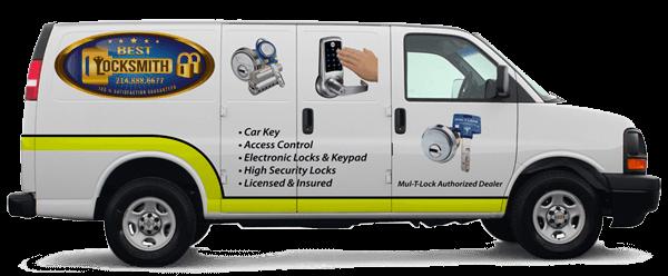 Best Locksmith Dallas Service Truck