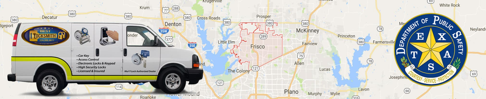Frisco, Texas Locksmith Services