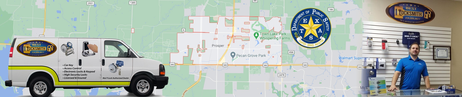 Locksmith Prosper, Texas